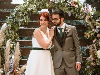 La boda de Pilar y Ruben