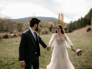 La boda de Cora y Raul