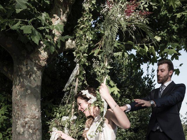 La boda de Josu y Miriam en Santa Gadea Del Cid, Burgos 1