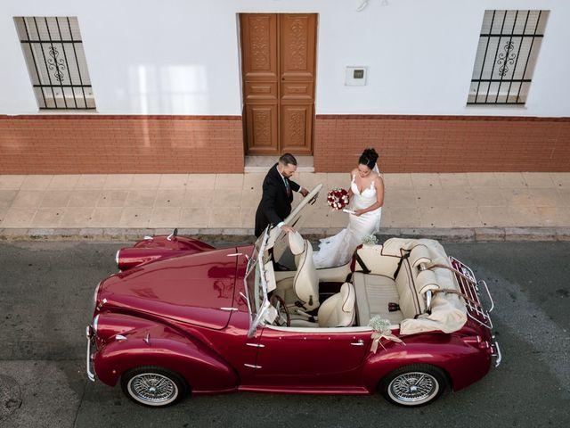 La boda de Fran y Rocío en La Puebla Del Rio, Sevilla 8