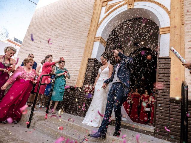 La boda de Fran y Rocío en La Puebla Del Rio, Sevilla 13