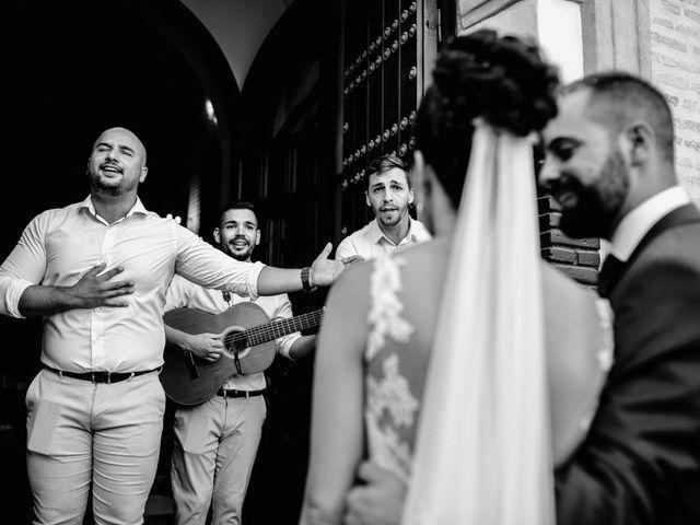 La boda de Fran y Rocío en La Puebla Del Rio, Sevilla 15