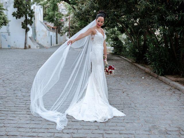 La boda de Fran y Rocío en La Puebla Del Rio, Sevilla 21