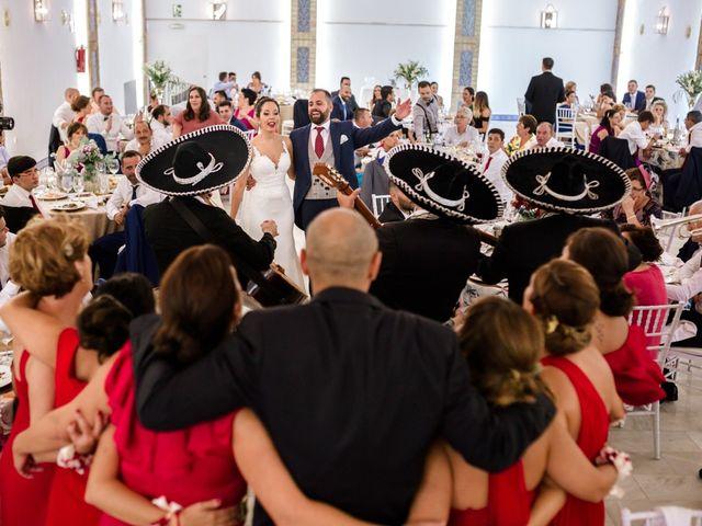 La boda de Fran y Rocío en La Puebla Del Rio, Sevilla 31