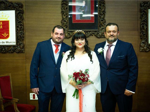 La boda de José y Dolo en La Union, Murcia 2