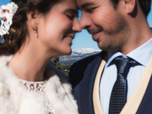 La boda de Alberto y Paloma en Torrelodones, Madrid 2