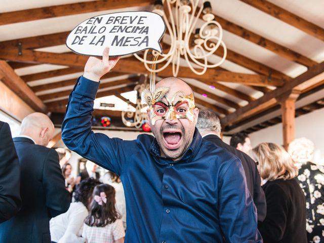 La boda de Alberto y Paloma en Torrelodones, Madrid 37