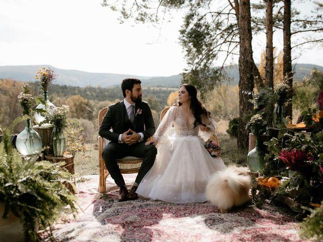 La boda de Raul  y Cora en Rascafria, Madrid 14