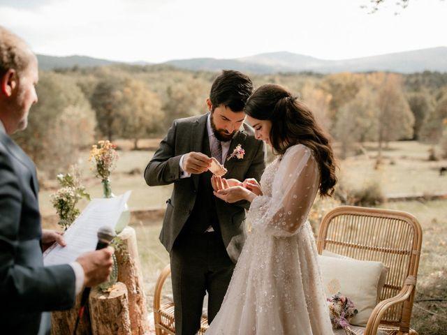La boda de Raul  y Cora en Rascafria, Madrid 16