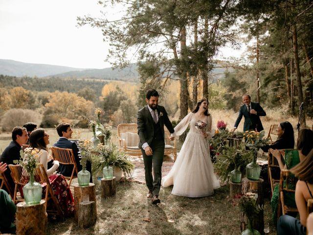 La boda de Raul  y Cora en Rascafria, Madrid 18