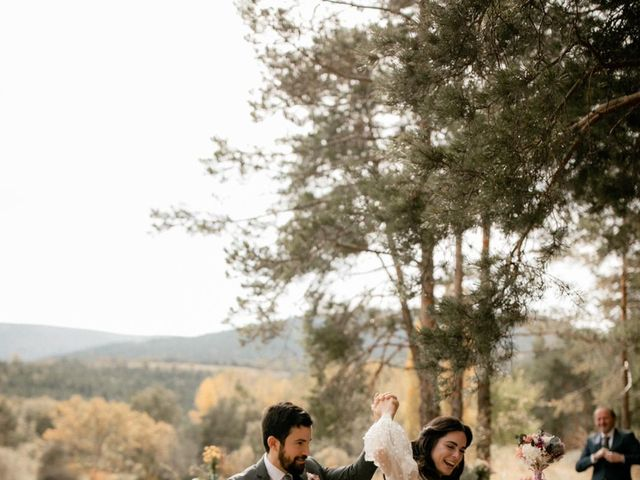 La boda de Raul  y Cora en Rascafria, Madrid 20