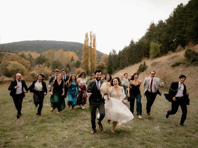 La boda de Raul  y Cora en Rascafria, Madrid 21