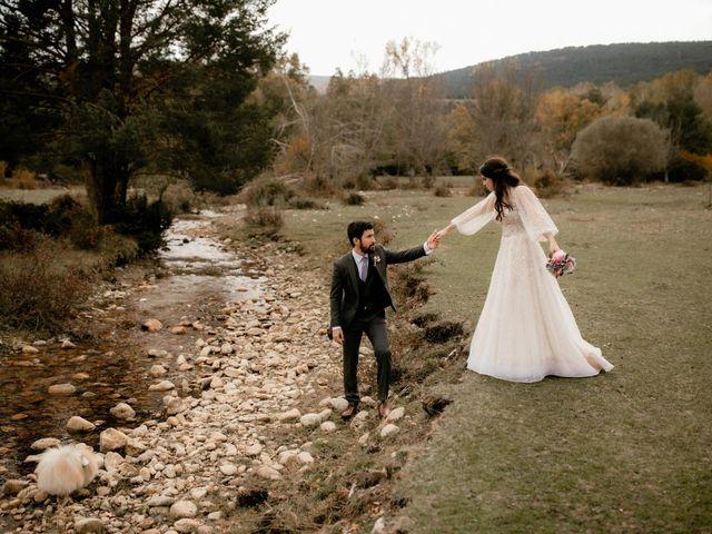 La boda de Raul  y Cora en Rascafria, Madrid 23