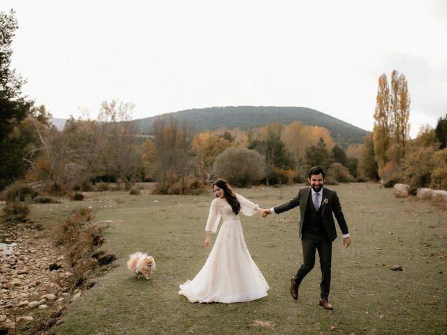La boda de Raul  y Cora en Rascafria, Madrid 30