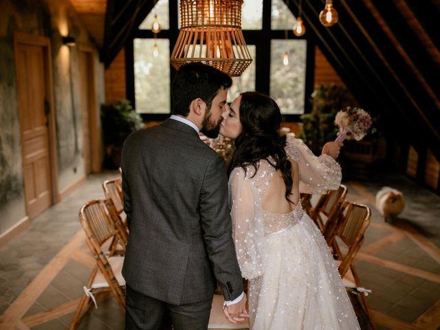 La boda de Raul  y Cora en Rascafria, Madrid 34