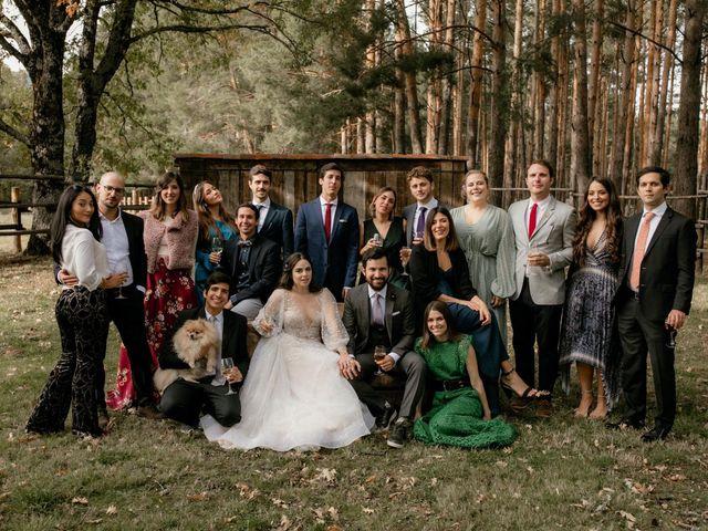 La boda de Raul  y Cora en Rascafria, Madrid 35