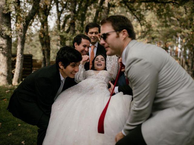 La boda de Raul  y Cora en Rascafria, Madrid 39