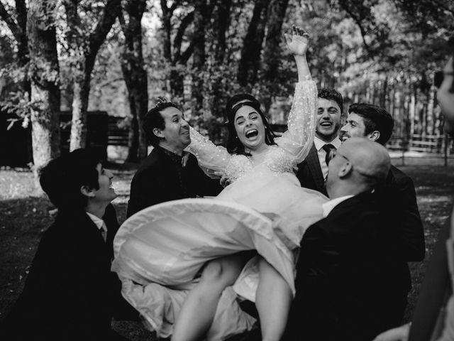 La boda de Raul  y Cora en Rascafria, Madrid 40
