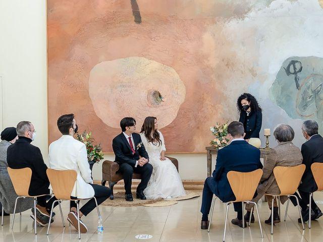 La boda de Lidia y Joan en Agramunt, Lleida 11