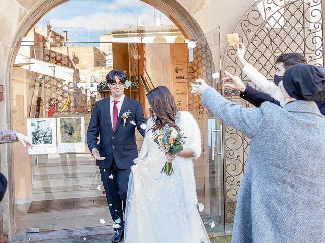 La boda de Lidia y Joan en Agramunt, Lleida 17
