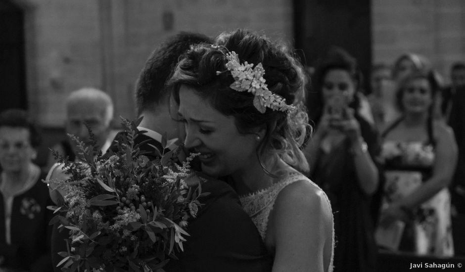 La boda de Josu y Miriam en Santa Gadea Del Cid, Burgos
