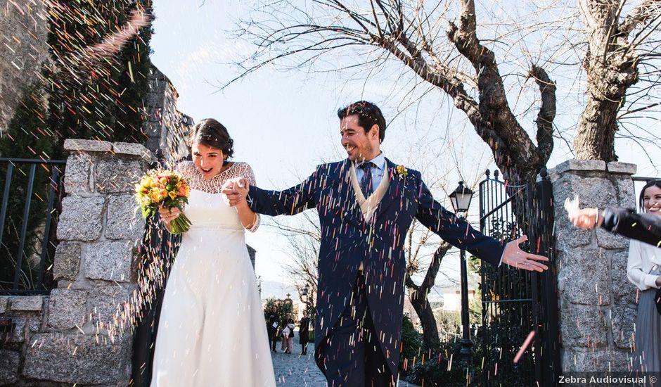 La boda de Alberto y Paloma en Torrelodones, Madrid