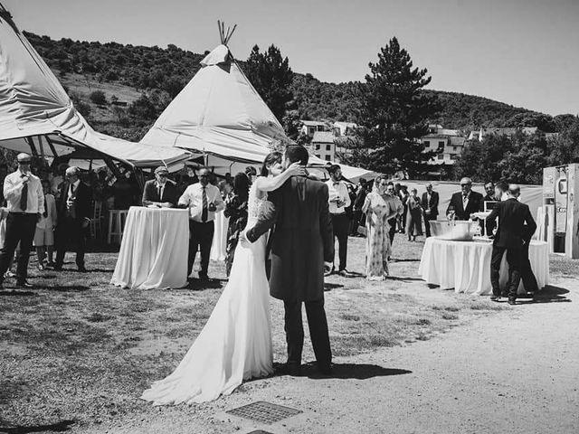La boda de Kike y Alba  en Covarrubias, Burgos 5