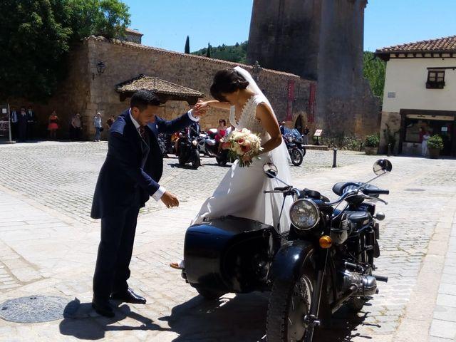 La boda de Kike y Alba  en Covarrubias, Burgos 9