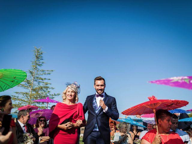 La boda de Albert y María en Villar De Los Alamos, Salamanca 70