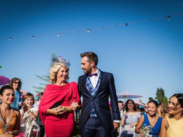 La boda de Albert y María en Villar De Los Alamos, Salamanca 71