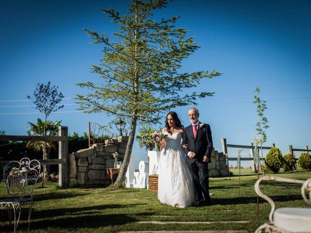 La boda de Albert y María en Villar De Los Alamos, Salamanca 73