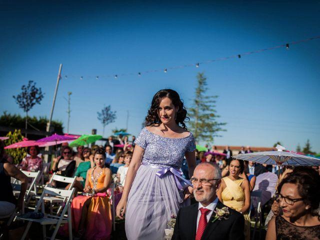 La boda de Albert y María en Villar De Los Alamos, Salamanca 80
