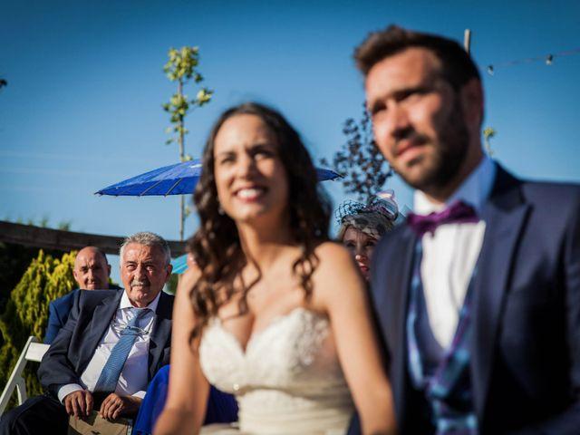 La boda de Albert y María en Villar De Los Alamos, Salamanca 92