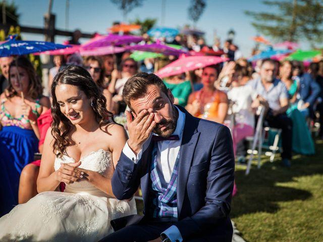 La boda de Albert y María en Villar De Los Alamos, Salamanca 94