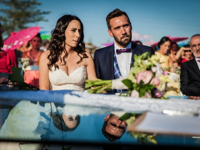La boda de Albert y María en Villar De Los Alamos, Salamanca 98