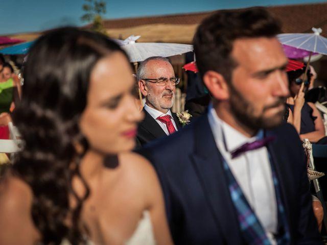 La boda de Albert y María en Villar De Los Alamos, Salamanca 99