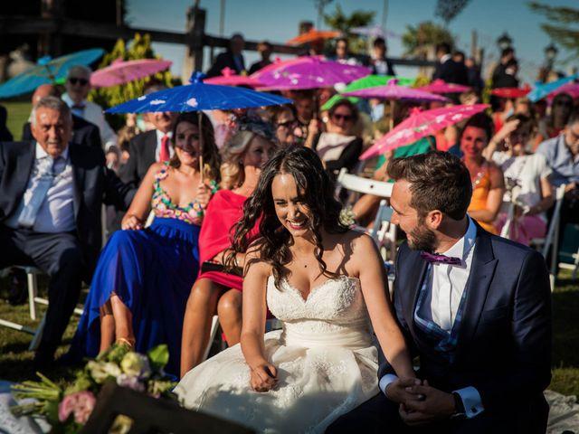 La boda de Albert y María en Villar De Los Alamos, Salamanca 105