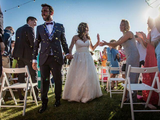 La boda de Albert y María en Villar De Los Alamos, Salamanca 119