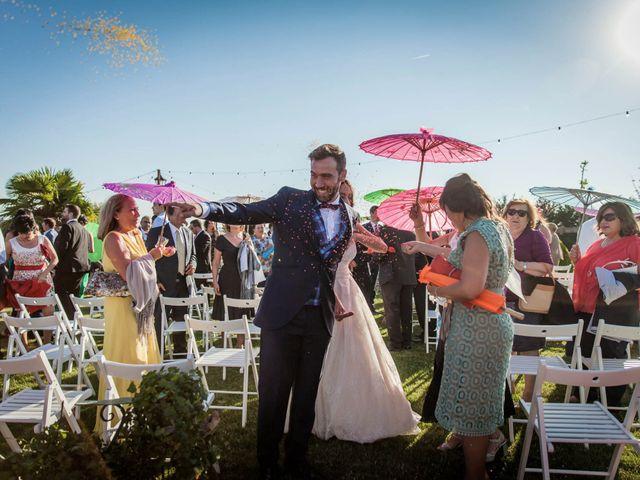 La boda de Albert y María en Villar De Los Alamos, Salamanca 120