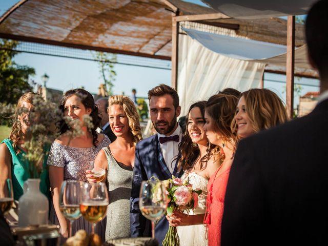 La boda de Albert y María en Villar De Los Alamos, Salamanca 126