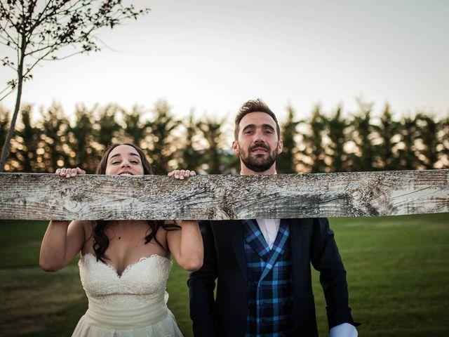 La boda de Albert y María en Villar De Los Alamos, Salamanca 147