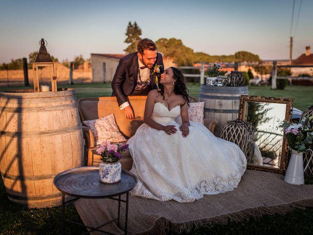 La boda de Albert y María en Villar De Los Alamos, Salamanca 151