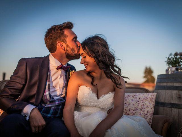 La boda de Albert y María en Villar De Los Alamos, Salamanca 153