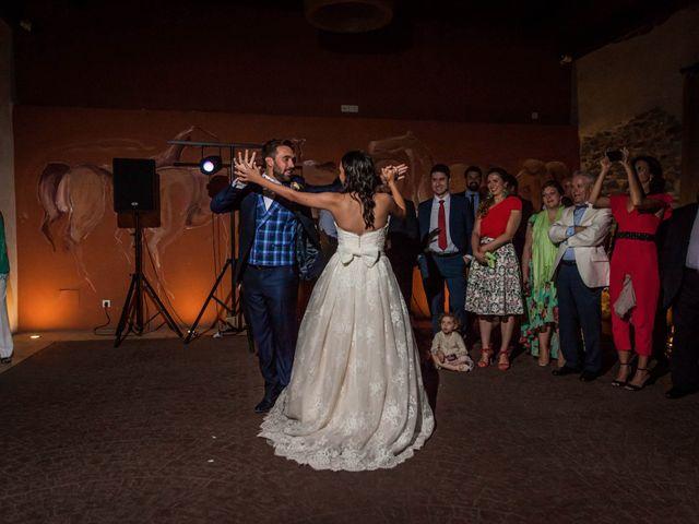 La boda de Albert y María en Villar De Los Alamos, Salamanca 193