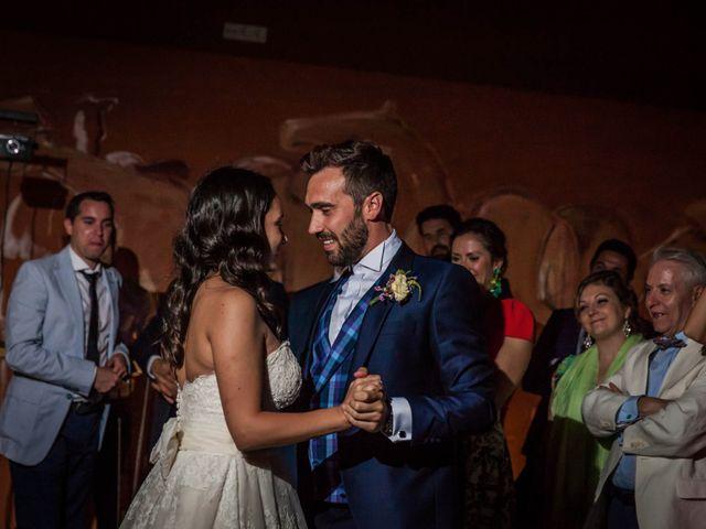La boda de Albert y María en Villar De Los Alamos, Salamanca 195