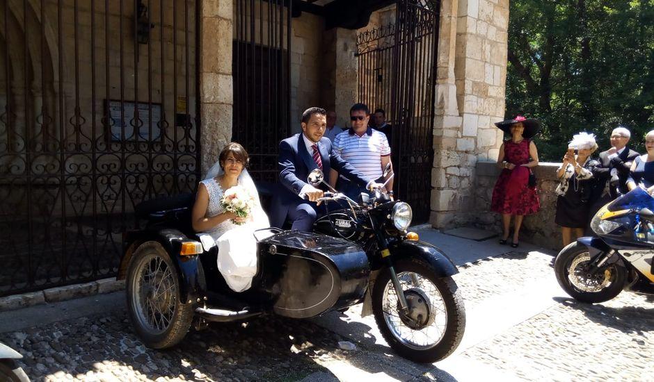 La boda de Kike y Alba  en Covarrubias, Burgos