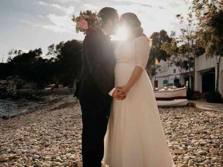 La boda de Alba y Marçal