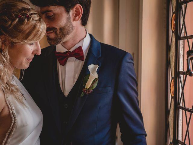 La boda de Claudia y Hervé