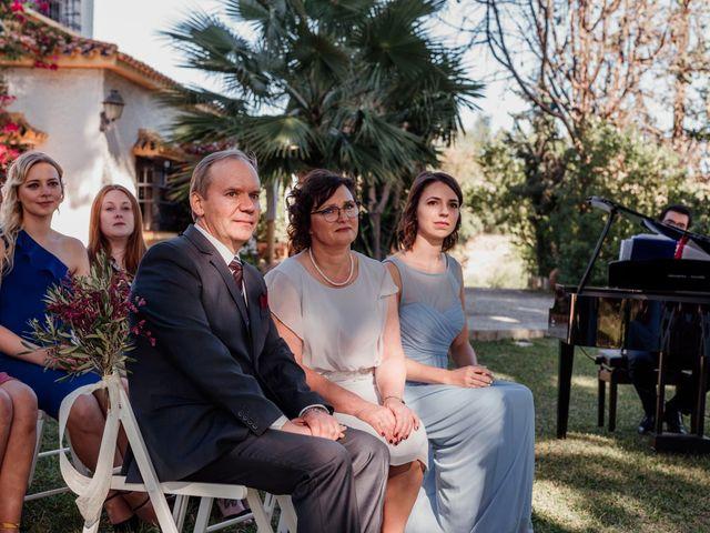 La boda de Thomas y Dovile en Estación De Cartama, Málaga 60
