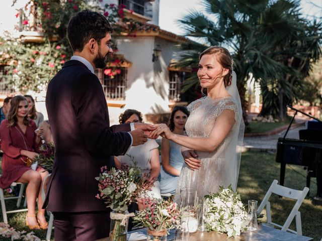 La boda de Thomas y Dovile en Estación De Cartama, Málaga 62